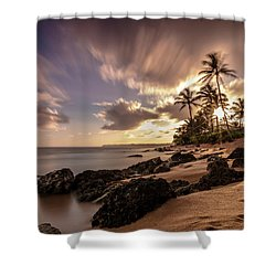 Wainiha Kauai Hawaii Sunrise  Shower Curtain