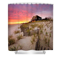Wainscott Sunset Shower Curtain