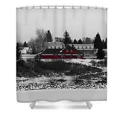 Shower Curtain featuring the photograph Heritage Park by Stuart Turnbull