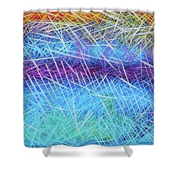Wait By The River Shower Curtain