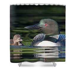 Wait For Me.... Shower Curtain