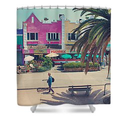 Waitin' For Victorio Shower Curtain by Laurie Search