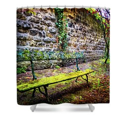 Shower Curtain featuring the photograph Waiting by Debra and Dave Vanderlaan