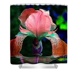 Waiting Shower Curtain by Elfriede Fulda