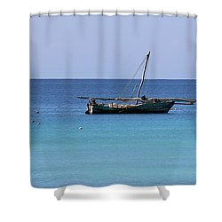 Shower Curtain featuring the photograph Waiting For Adventure by Brandy Little