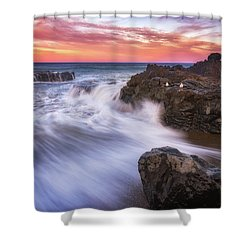 Shower Curtain featuring the photograph Waiting For Breakfast by Darren White