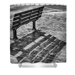 Waiting For Proposal Shower Curtain by Richard Bean