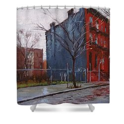 Waiting For Spring No. 2 Shower Curtain by Peter Salwen