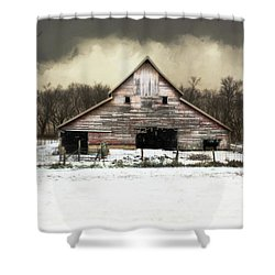 Shower Curtain featuring the photograph Waiting For The Storm To Pass by Julie Hamilton