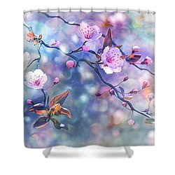 Waiting For Tomorrow Shower Curtain by Agnieszka Mlicka