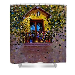 Waiting For You..3 Shower Curtain by Cristina Mihailescu