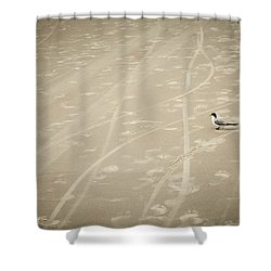 Shower Curtain featuring the photograph Waiting My Turn by Carolyn Marshall