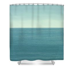 Waiting Shower Curtain by Peter Tellone