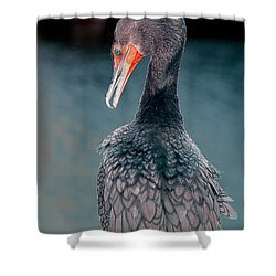 Waiting Shower Curtain by William Feig