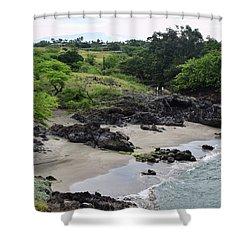 Shower Curtain featuring the photograph Wai'ula'ula by Pamela Walton
