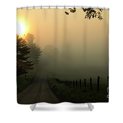 Wake Me Up When September Ends Shower Curtain