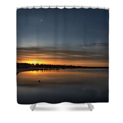 Waking To A Cold Sunrise Shower Curtain