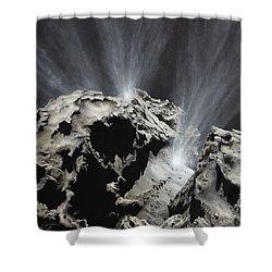 Waking Wanderer Shower Curtain