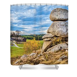Waldviertel Shower Curtain by JR Photography