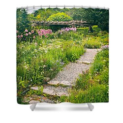 Walk Among The Wildflowers Shower Curtain by Jessica Jenney