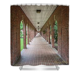 Shower Curtain featuring the photograph Walk Of Honor 3 by Gregory Daley  PPSA