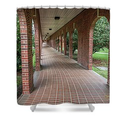 Shower Curtain featuring the photograph Walk Of Honor 6 by Gregory Daley  PPSA