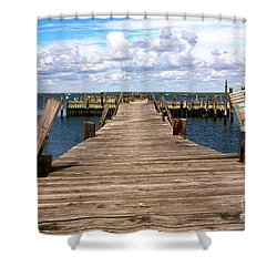 Walk Out Shower Curtain