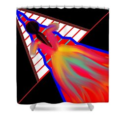 Walk The Red Carpet Shower Curtain