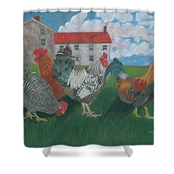 Walk This Way Shower Curtain