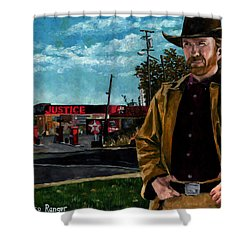 Walker Texaco Ranger Shower Curtain