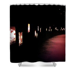 Walking Among The Stories Shower Curtain