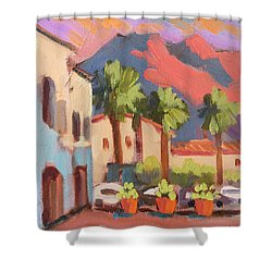 Walking Area In Old Town La Quinta Shower Curtain