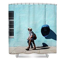 Walking Hats Shower Curtain