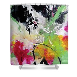 Walking In Sunshine Shower Curtain