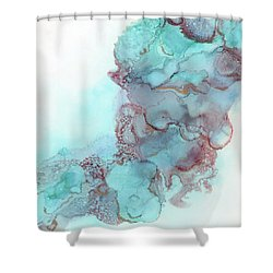 Walking In The Sky Shower Curtain