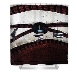 Walking On Air Shower Curtain