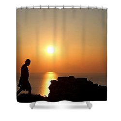 Walking Paradise Shower Curtain