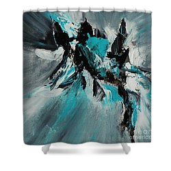 Walking Waves-2 Shower Curtain