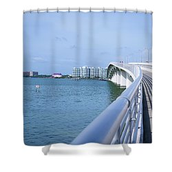 Walkway Shower Curtain
