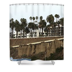Walkway To Beach Shower Curtain