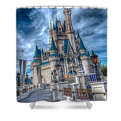 Walkway To Cinderellas Castle Shower Curtain