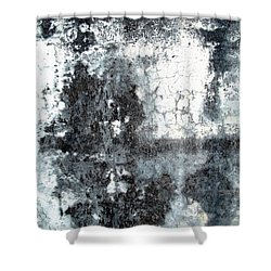 Wall Abstract 165 Shower Curtain