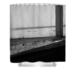 Wall And Shows 1 Shower Curtain