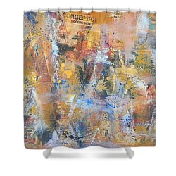Wall Memories Shower Curtain
