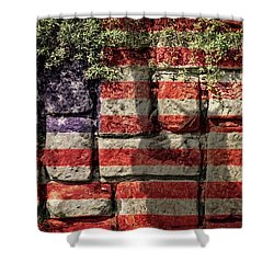 Wall Of Liberty Shower Curtain
