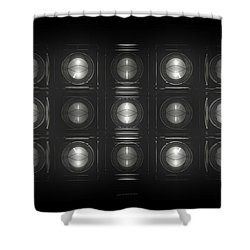 Wall Of Roundels - 5x3 Shower Curtain