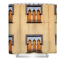 Wall Of Windows Shower Curtain