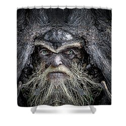 Wally Woodfury Shower Curtain by Rick Mosher