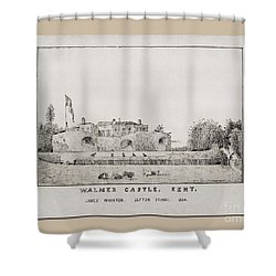 Walmer Castle Kent Shower Curtain