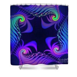 Shower Curtain featuring the digital art Walpurgis Night by Jutta Maria Pusl